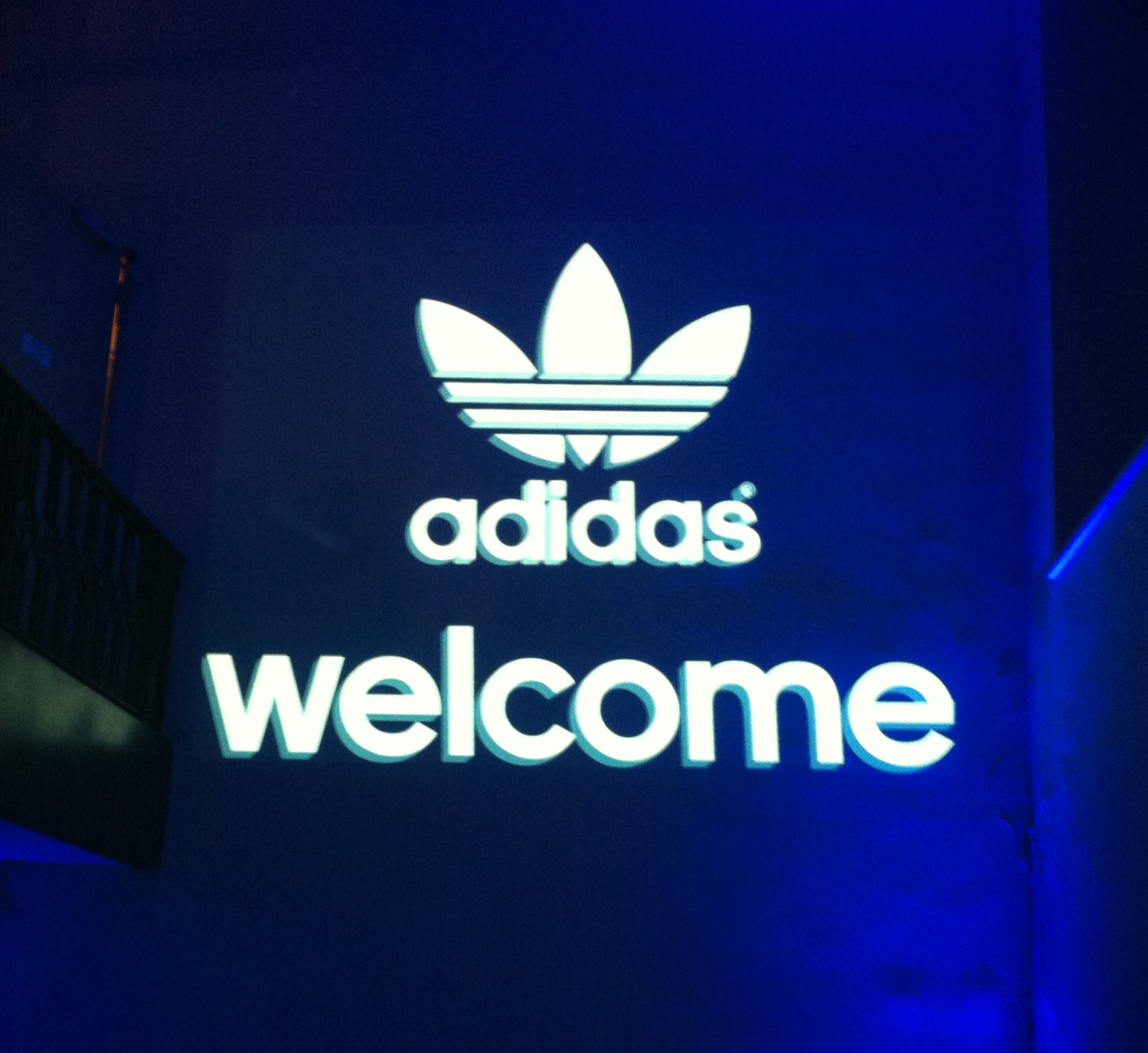 adidas welcome