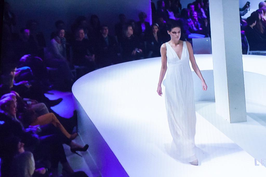 Berlin Fashion Week - Leila Hafzi Show © Marc Boesing