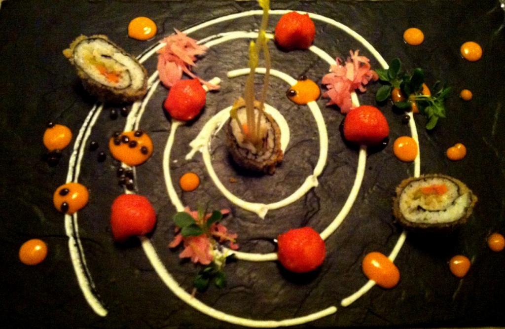 Vegane Vorspeise im Kopps Berlin | geknusperte Maki
