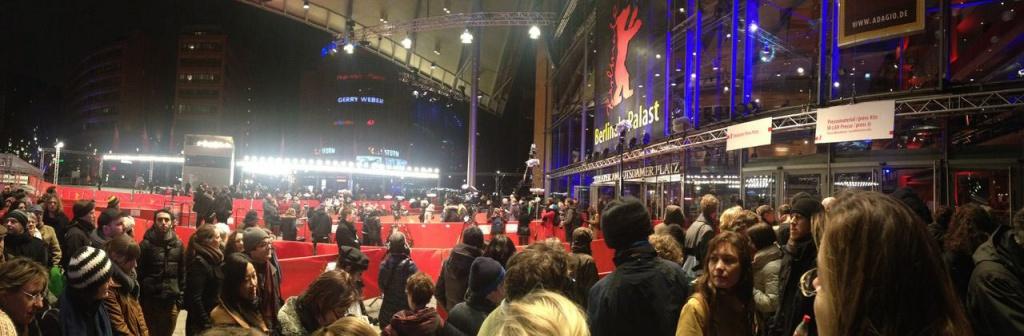 Vor dem Berlinale Palast Weltpremiere Paradies: Hoffnung von Ulrich Seidl