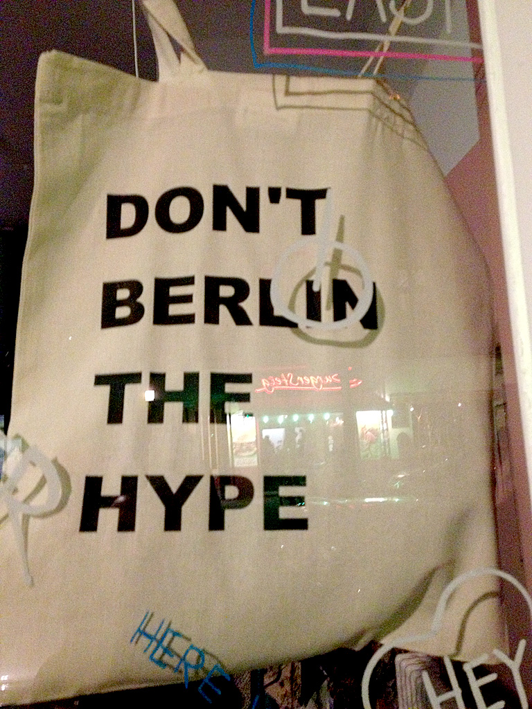 Don't Berlin The Hype