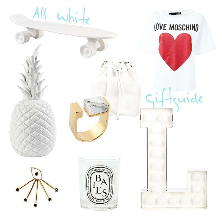 Christmas presents for your lovely friends All White nowhellip