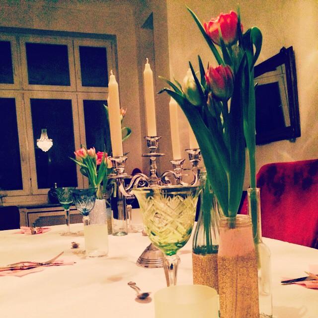 Getting ready for #dinner tonight #food #vegetarian #veggie #veggielove #interior…