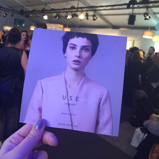 Here we go @useunused  @#mbfwb #fashionshow #bloggerlife #fasheriaontheroad