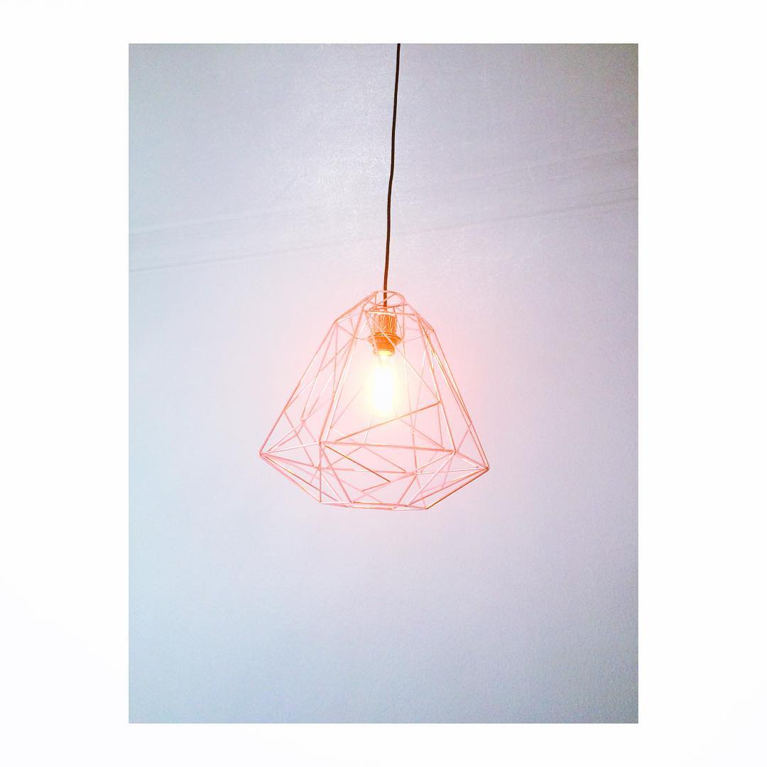 Say hello to my new beauty beauty light copper interiorhellip
