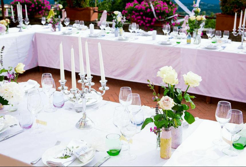 Tischdeko by fasheria.com Hochzeit