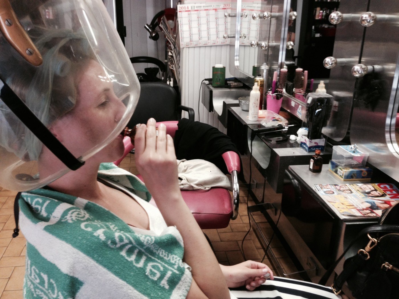 Dauerwelle Beim Friseur Machen