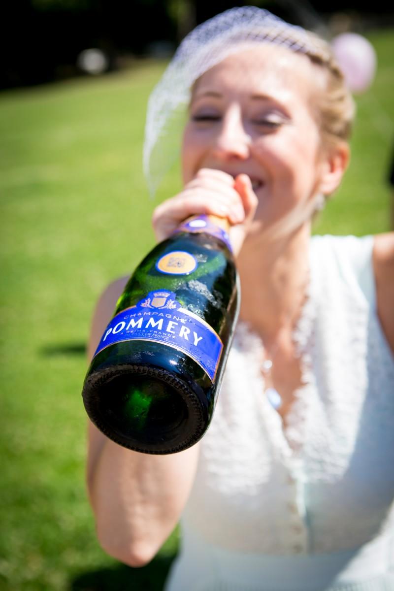 Pommery2 zur Hochzeit