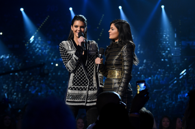Balmain x HM - Kendall Kylie