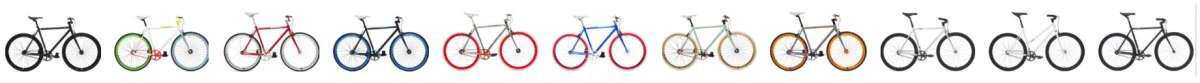 Create Bikes - echt schöne Farbkombinationen!
