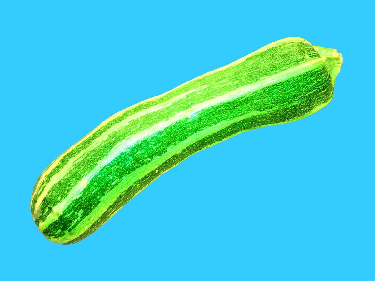 Holy Zucchini! Die schönste Zucchini der Welt!