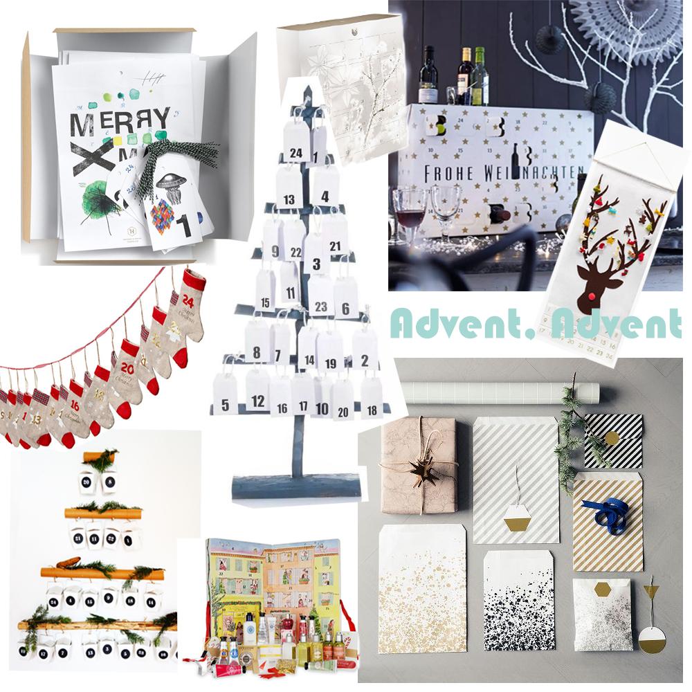 advent advent die sch nsten adventskalender 2015. Black Bedroom Furniture Sets. Home Design Ideas