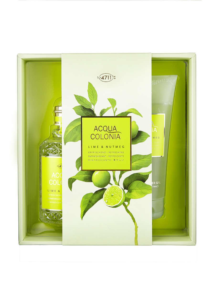 4711_AcquaColonia_Lime&Nutmeg_gift set_EdC-170ml_DG-200ml_UVP-37,00-Euro_72dpi