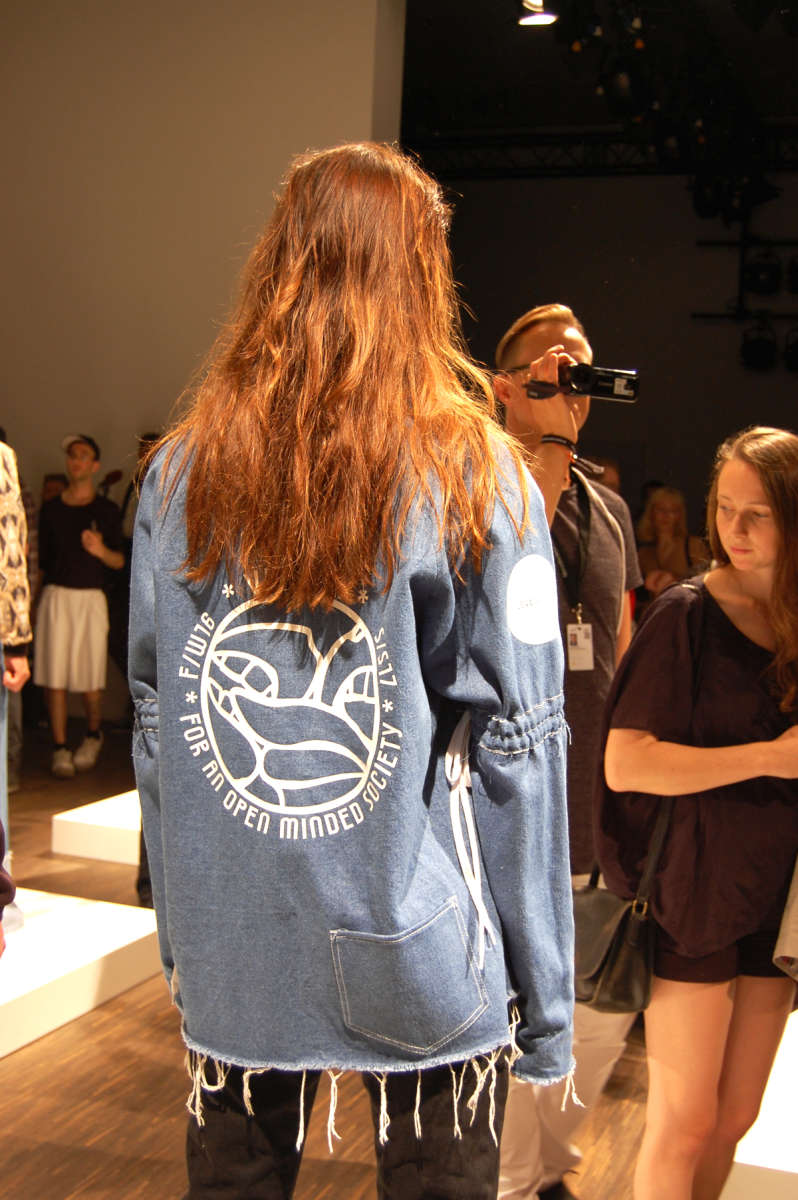 vector fashion show