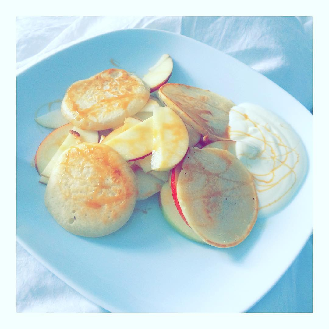 Starting the day right  pancakeaddicted wenndermannkocht  happy weekendhellip