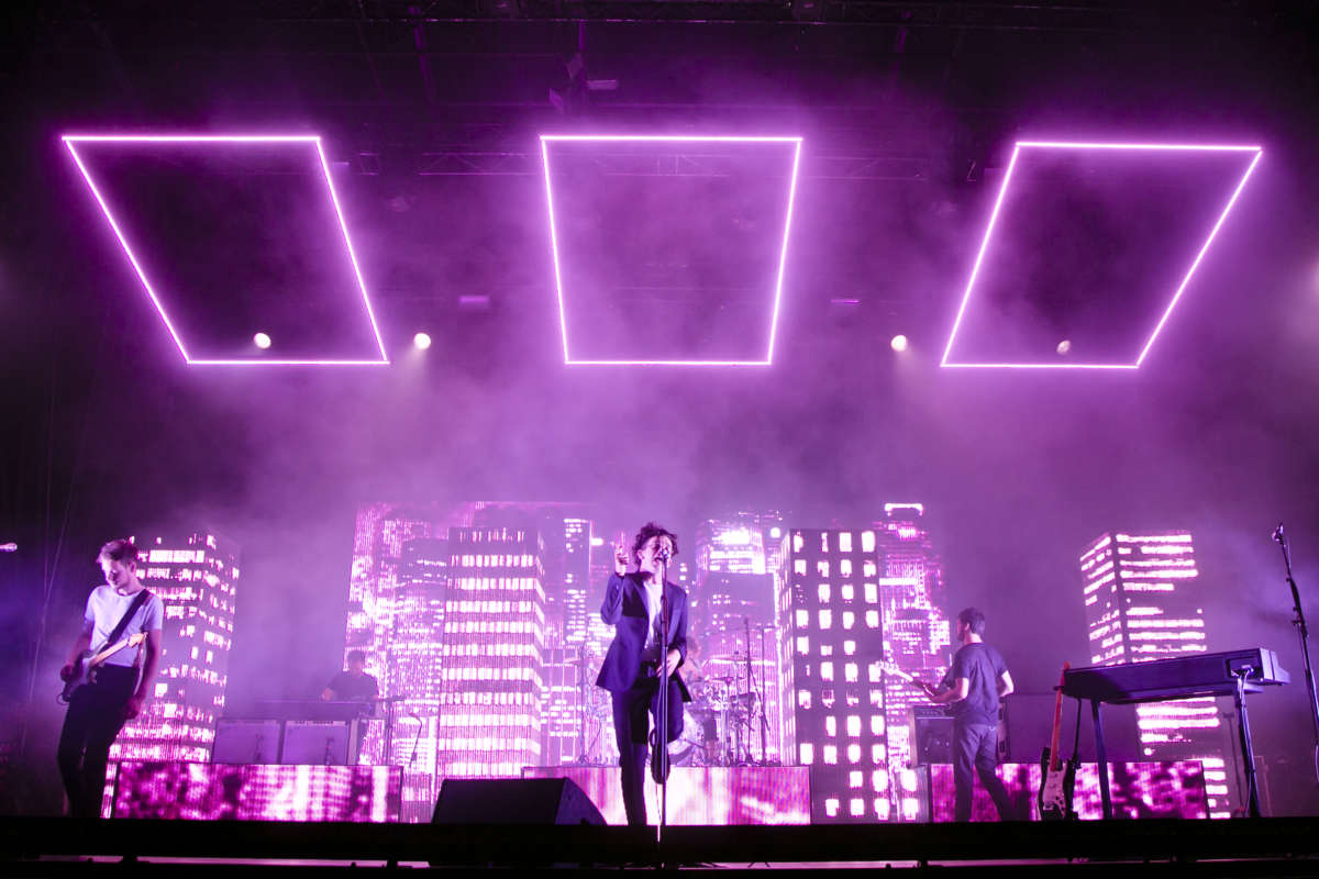 The 1975 at Lollapalooza, Berlin, Germany - 11 September 2016