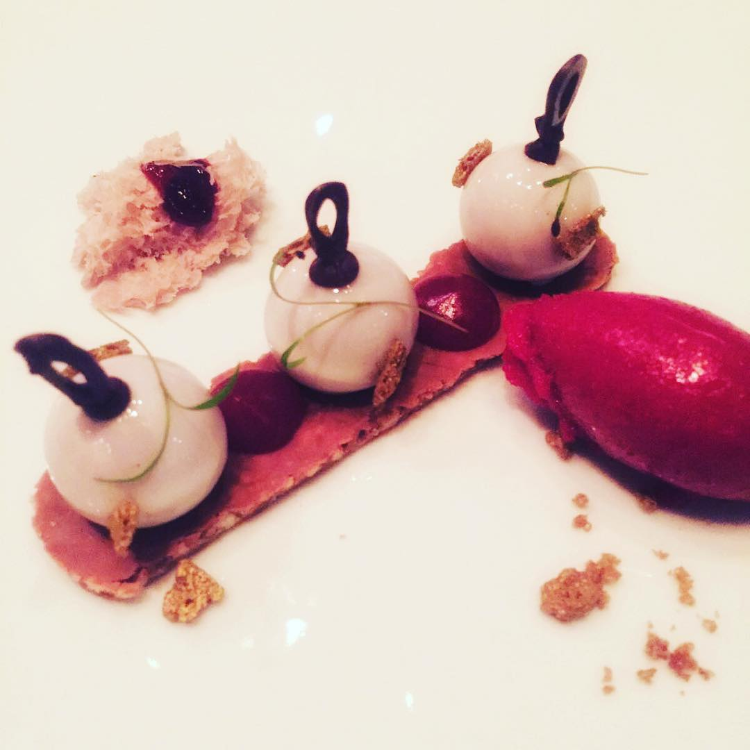 Oh Yes - I want more thx for the having me @sofitelberlinkudamm and @lefaubourg it was awesome #dinner #desert #food